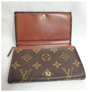 Authentic Preowned Vintage LV Billet Tresor